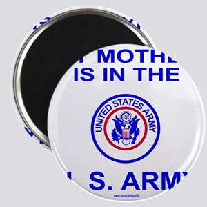 ArmyMyMotherInBlue Magnet
