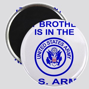 ArmyMyBrotherInBlue Magnet