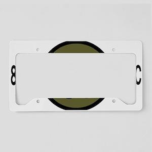 armyreserve81strscwhitecap.gi License Plate Holder