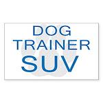 Dog Trainer SUV Rectangle Sticker