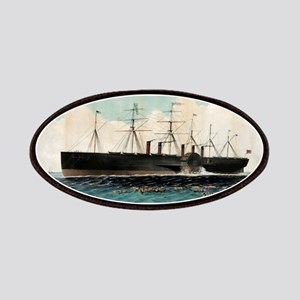 The iron steam ship Great Eastern - 1858 Patch
