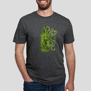 absinthe-bottle-swirl Mens Tri-blend T-Shirt