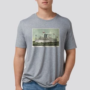 The magnificent new steamer Puritan - 1889 Mens Tr