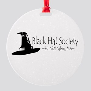 Black Hat Society Ornament