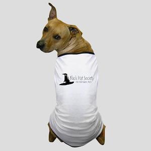 Black Hat Society Dog T-Shirt