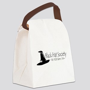 Black Hat Society Canvas Lunch Bag