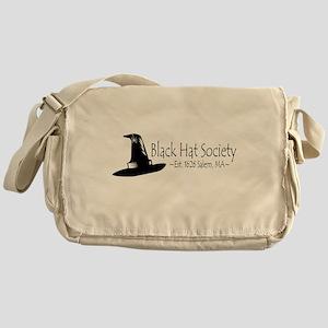 Black Hat Society Messenger Bag