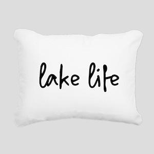 lake life Rectangular Canvas Pillow