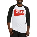 ZenTri Logo Red Baseball Jersey