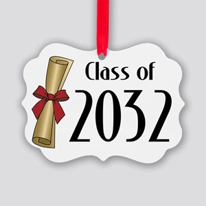 Class of 2032 Diploma Picture Ornament