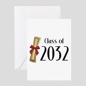 Class of 2032 Diploma Greeting Card