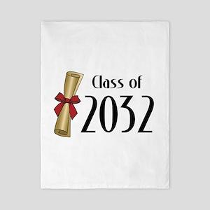 Class of 2032 Diploma Twin Duvet