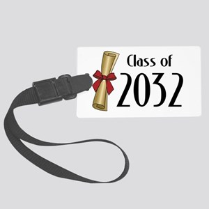 Class of 2032 Diploma Large Luggage Tag