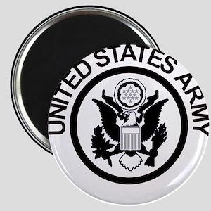 ArmyLogoBlackAndSilver Magnet