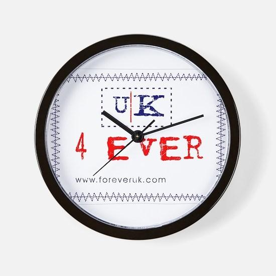 UK 4 ever Wall Clock