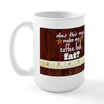 Fat Coffee Large Mug Mugs