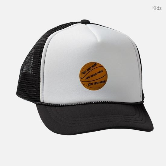 Basket Ball Kids Trucker hat