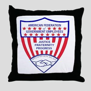 AFGELogoShieldGifB Throw Pillow