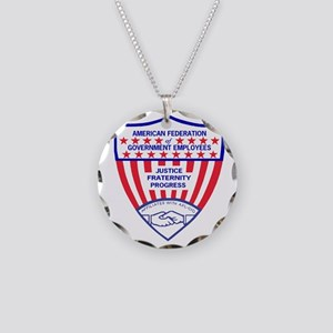 AFGELogoShieldGifB Necklace Circle Charm