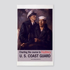 USCGPosterVictory 3'x5' Area Rug