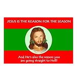 Jesus Reason Postcards (Package of 8)