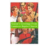 Gun Holiday Postcards (Package of 8)