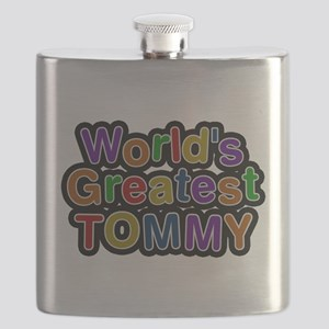 Worlds Greatest Tommy Flask