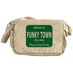 Funky Town Messenger Bag