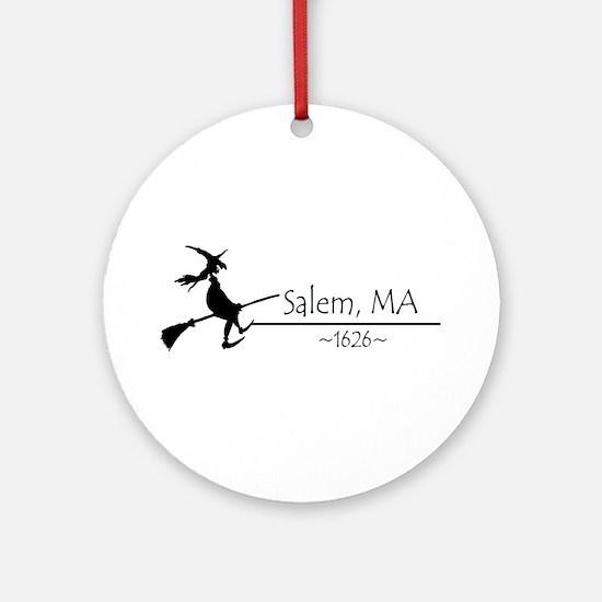 Salem, MA 1626 Ornament (Round)