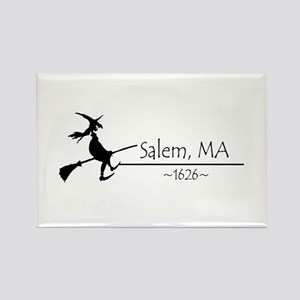 Salem, MA 1626 Rectangle Magnet