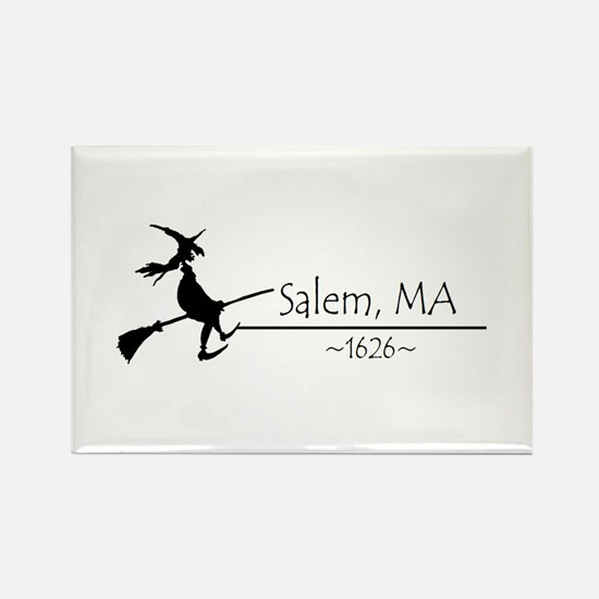 Salem, MA 1626 Rectangle Magnet