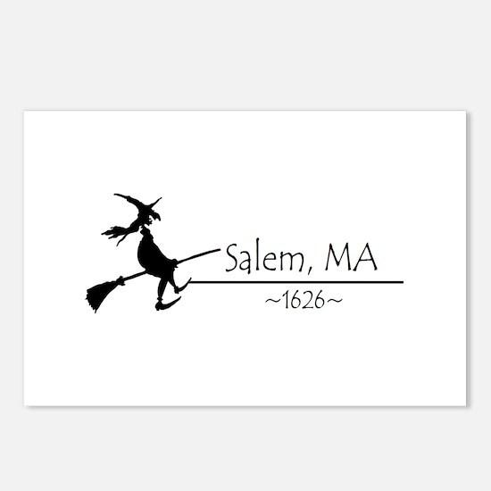 Salem, MA 1626 Postcards (Package of 8)