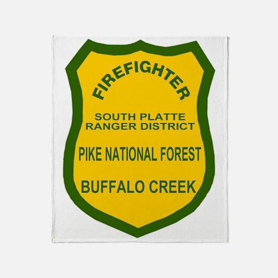 ForestServiceDamonBadge.gif Throw Blanket