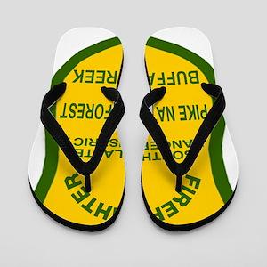 ForestServiceDamonBadge Flip Flops