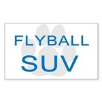 Flyball SUV Rectangle Sticker