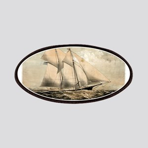 The yacht Dauntless of New York - 1869 Patch
