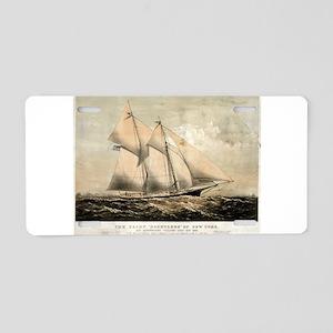 The yacht Dauntless of New York - 1869 Aluminum Li