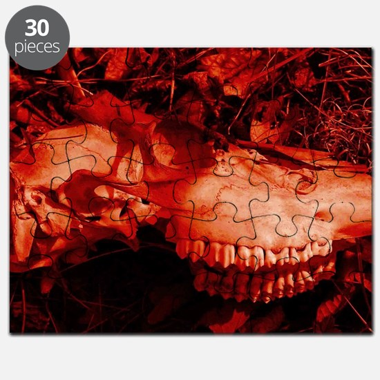 Red Skull Puzzle