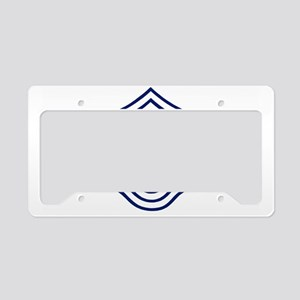 USAFChiefMasterSergeantCap.gi License Plate Holder