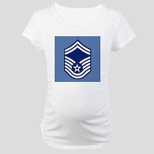 USAFSeniorMasterSergeantCoaster. Maternity T-Shirt