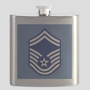 USAFSeniorMasterSergeantCoaster Flask
