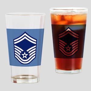 USAFSeniorMasterSergeantCoaster Drinking Glass