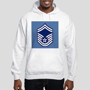 USAFSeniorMasterSergeantCoaster. Hooded Sweatshirt