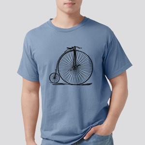 Vintage Penny Farthing Bicycle Mens Comfort Colors
