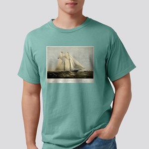 The yacht Meteor - 1869 Mens Comfort Colors Shirt