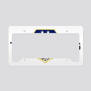 ANGTenn118thAWBlackMeshCap.gi License Plate Holder