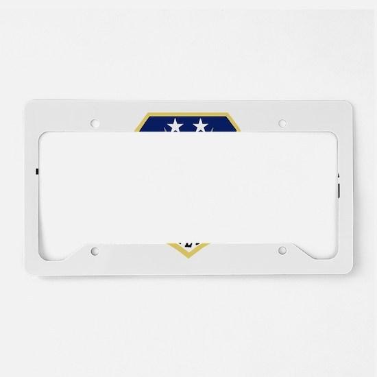 ANGTenn118thAWBlackMeshCap.gi License Plate Holder