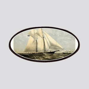 The yacht Meteor - 1869 Patch
