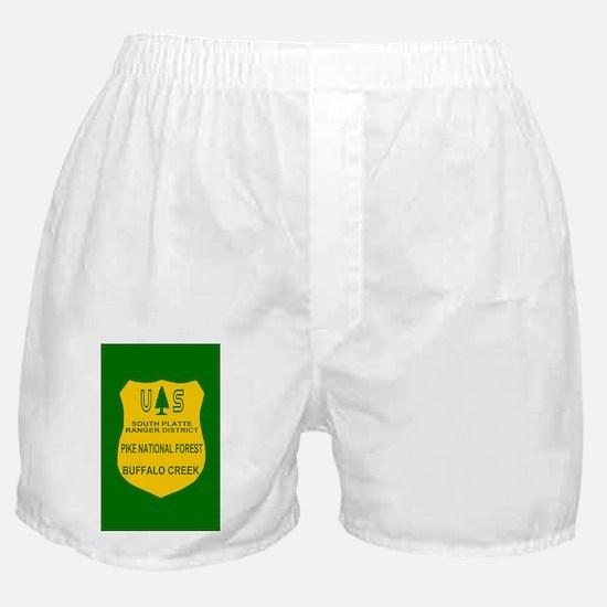 ForestServicePikeForestSticker.gif Boxer Shorts