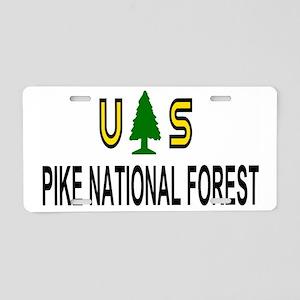 ForestServicePikeForestTruc Aluminum License Plate